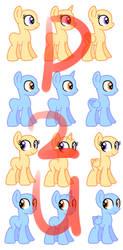 (P2U) Breedable Foals Base by sararini
