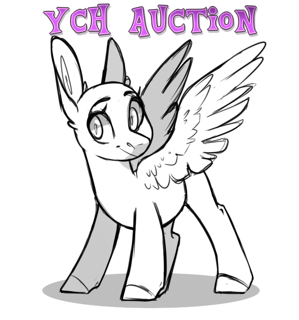 YCH Colored Sketch Auction by sararini