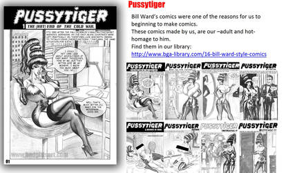 PussyTiger comic series by ChachoWorld