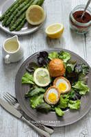 Scotch eggs by MirageGourmand