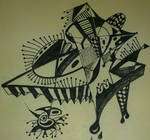 concept abstract drawing