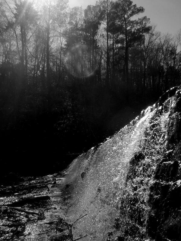 Odd water fall by irishcompass