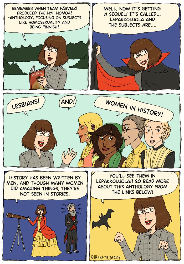 Lepakkoluola - Women in History