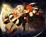 Clown and Rabbit and Vampire