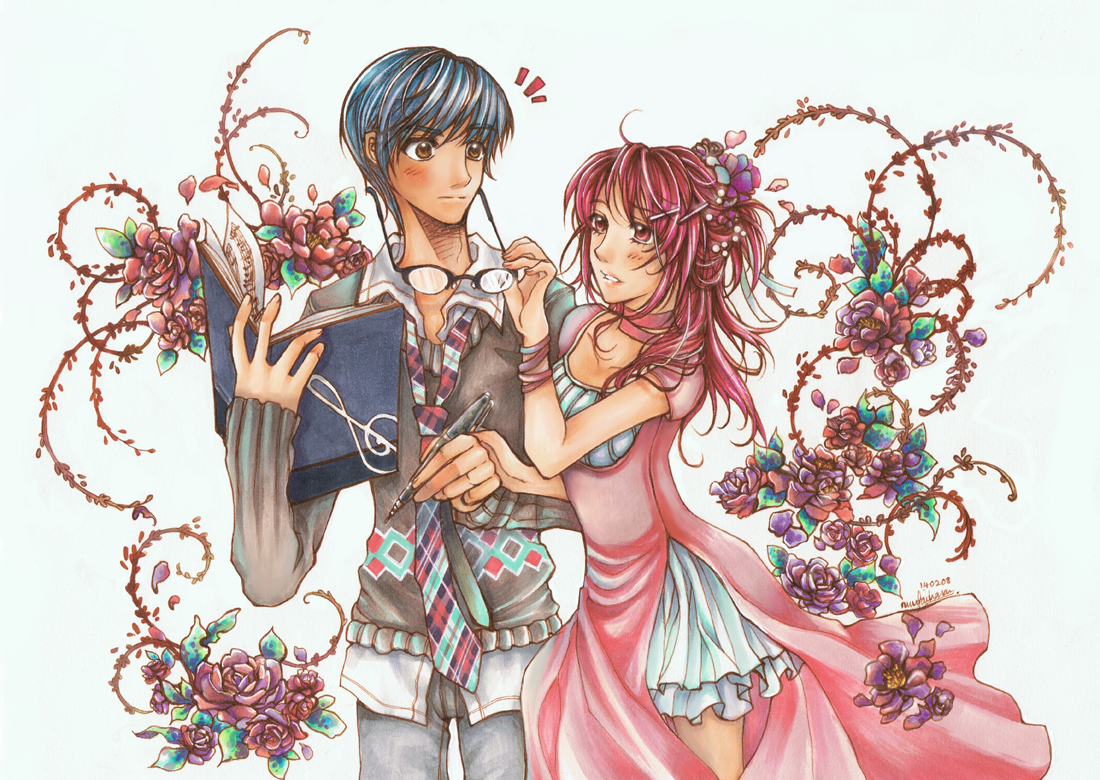 Con Amor - Tsukimori x Hino by Hanesihiko