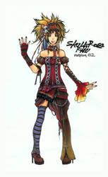 Skull-Rose Rikku ver.2 by Hanesihiko