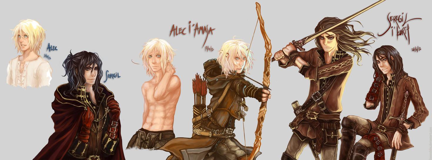 Nightrunner: Alec and Seregil by Hanesihiko