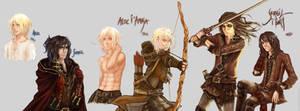 Nightrunner: Alec and Seregil