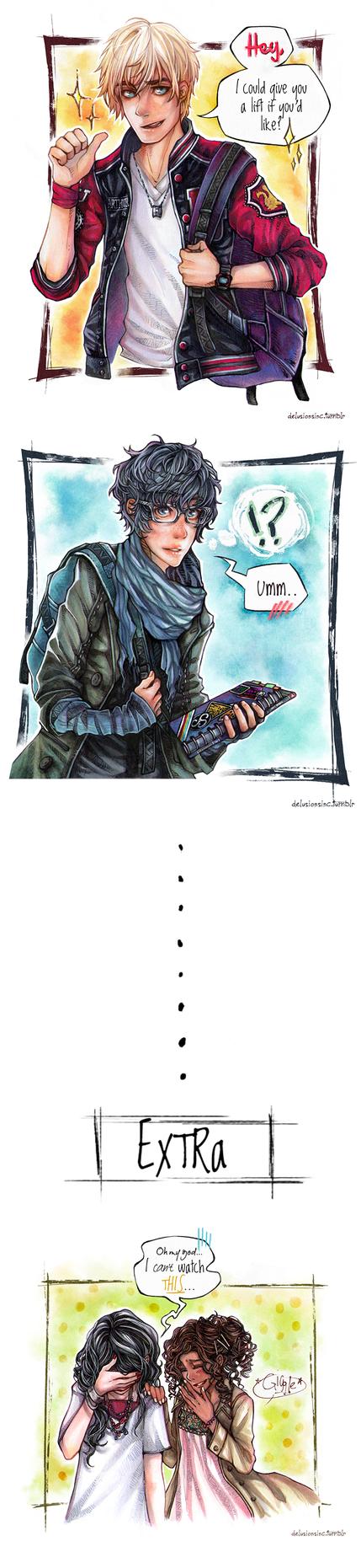 BBC Merlin: Need a lift? by Hanesihiko