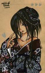 Geisha 2 by Hanesihiko