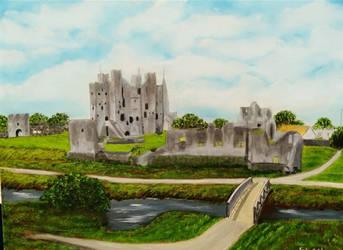 King John's Castle Trim Co. Meath, Ireland No.2 by Fredamary