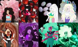 Steven Universe: Gem Fusions by Ashcloud1300