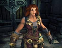 Darksiders II Forge Sister