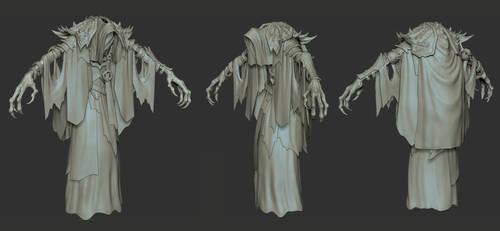 Darksiders II Lich Zbrush Model