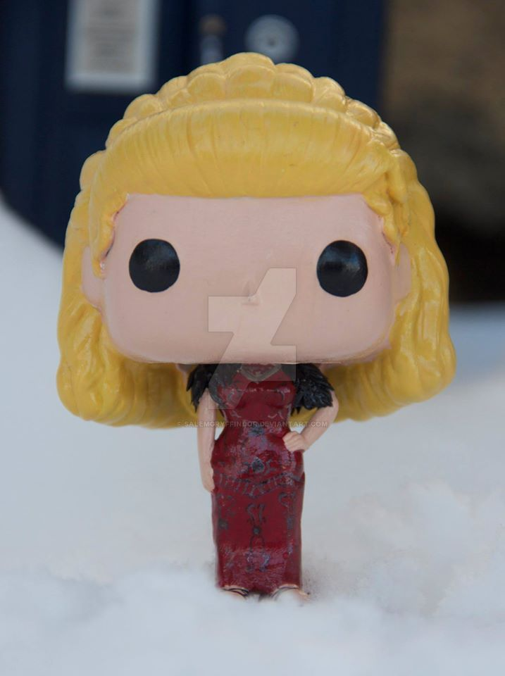 Customized River Song funko by salemgryffindor