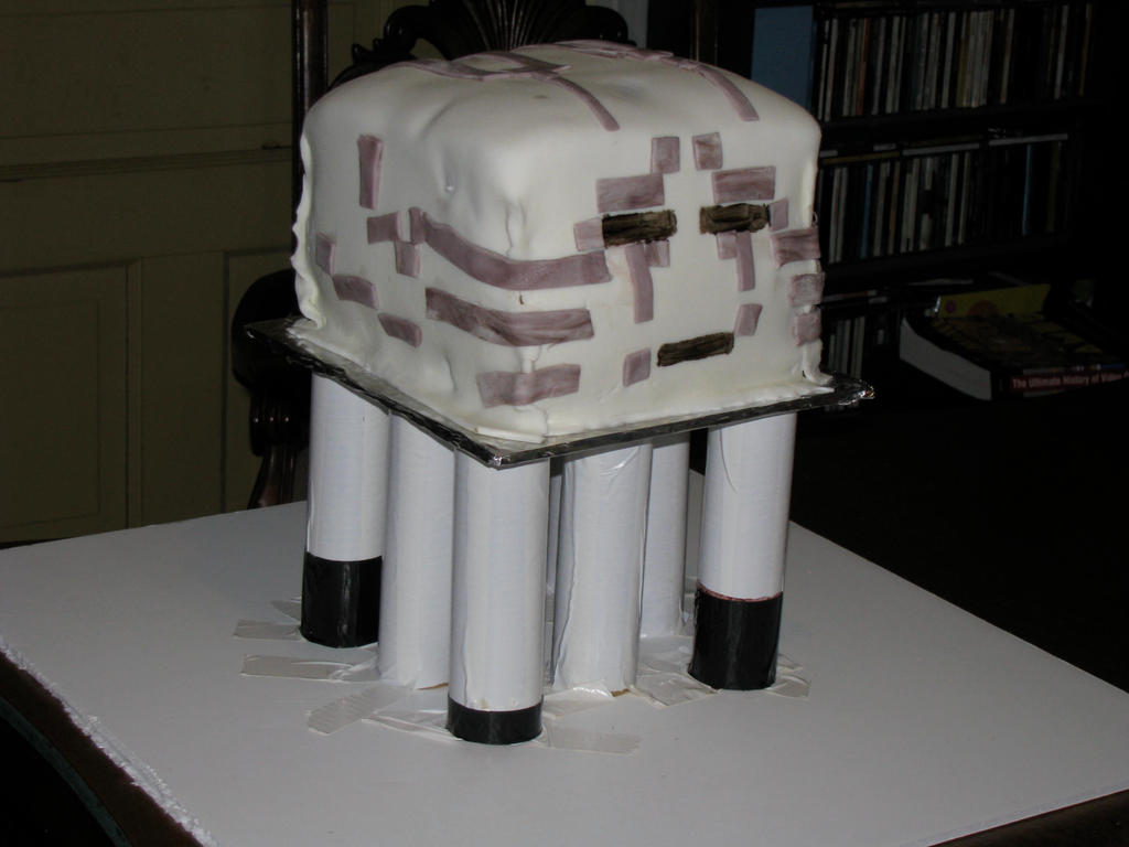 Ghast cake by tkoverkamp