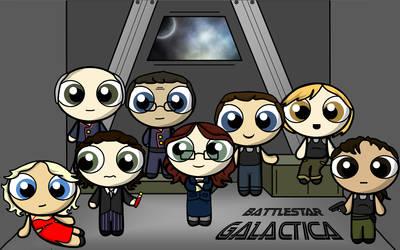 Battlestar Galactica by aliceazzo