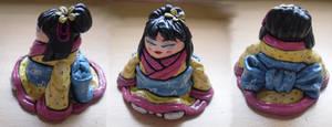 Fat Little Geisha Girl