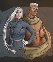 Ice and Fire by aliceazzo