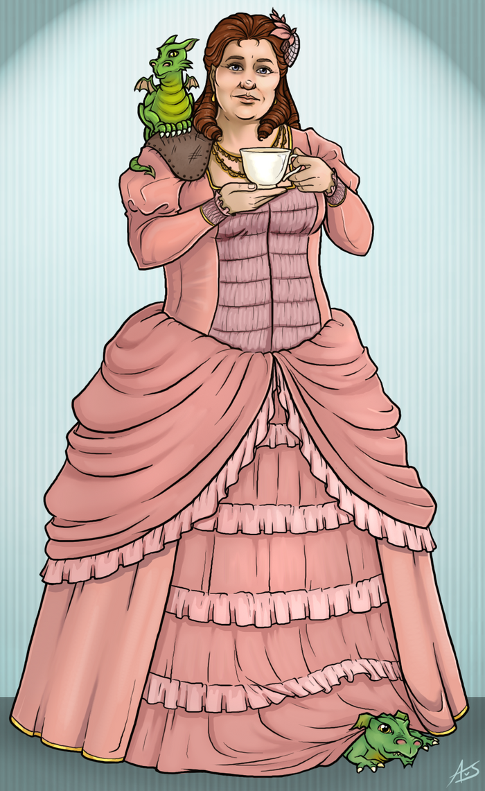 Lady Sybil Ramkin by aliceazzo