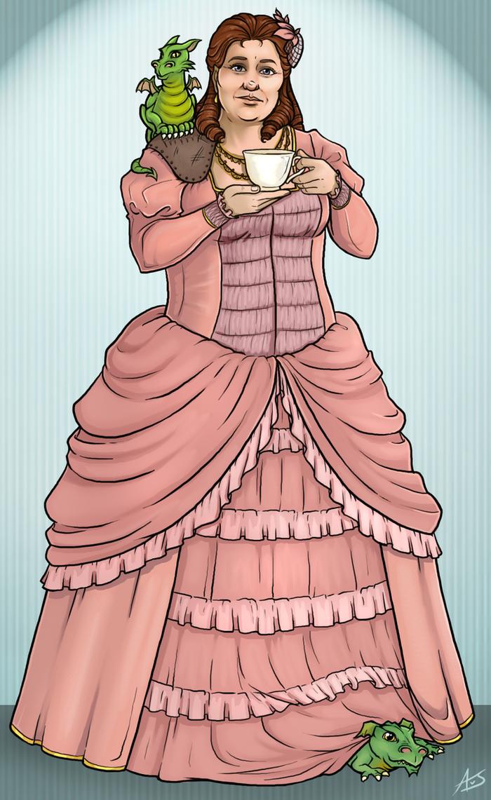 Lady Sybil Ramkin by aliceazzo