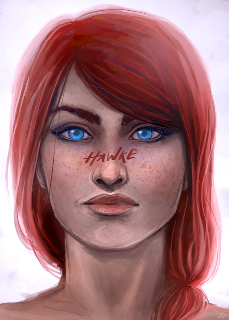 Meghan Hawke by aliceazzo