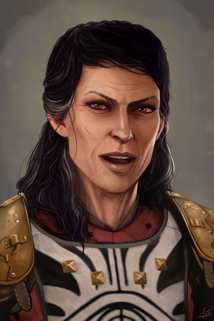 Older Cassandra Pentaghast by aliceazzo