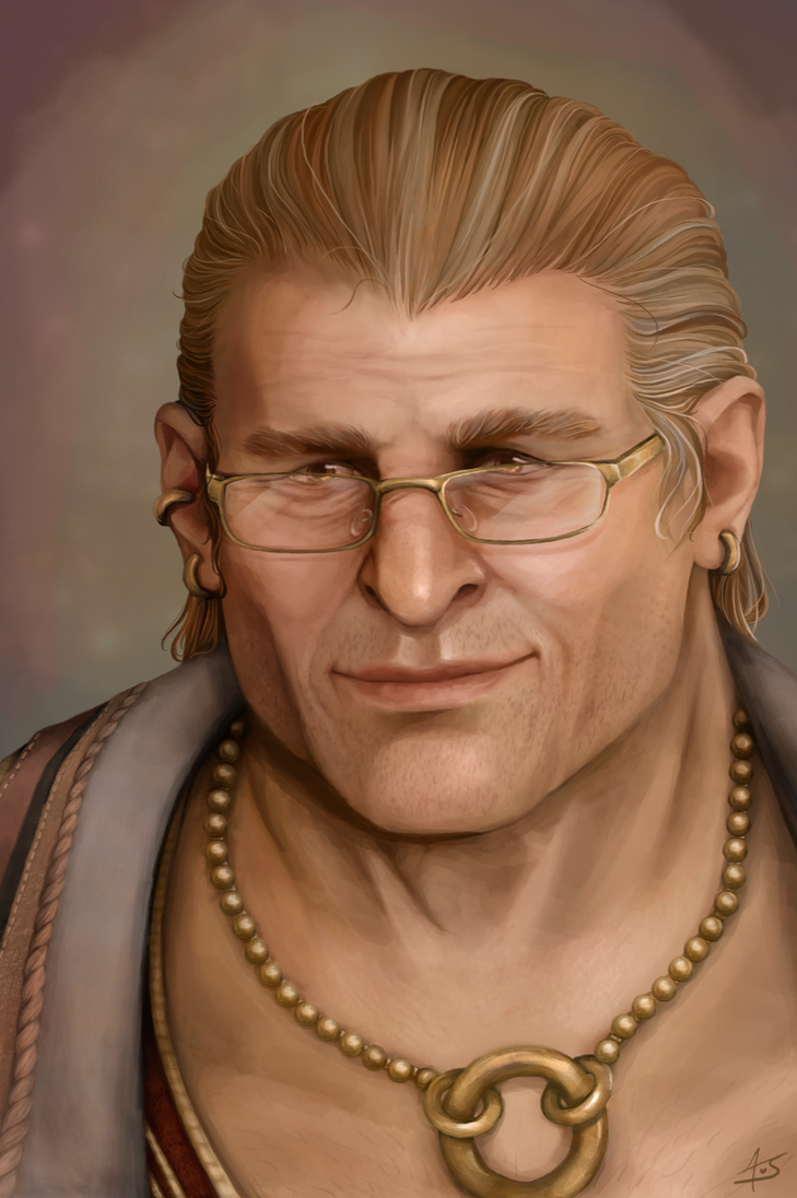 Older Varric Tethras by aliceazzo