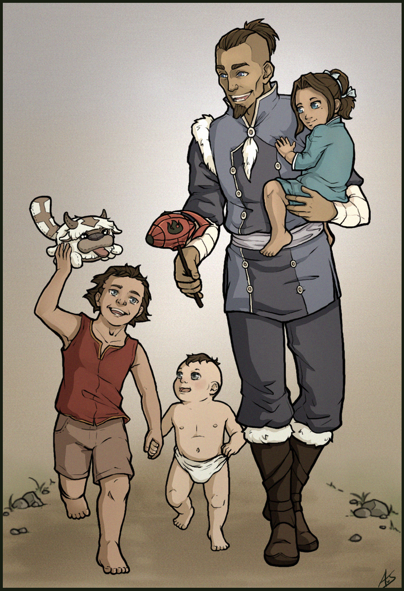 Uncle Sokka by aliceazzo