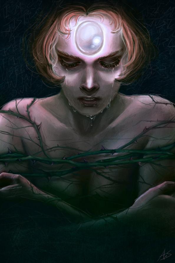 Pearl Portrait by aliceazzo