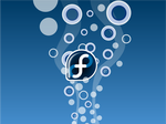 Fedora Bubble wallpaper