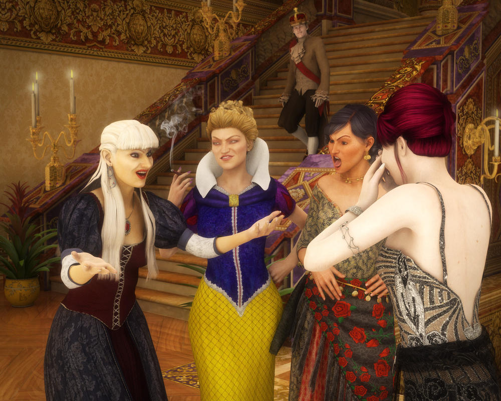The Real Housewives of Fairytale Land by lucia45