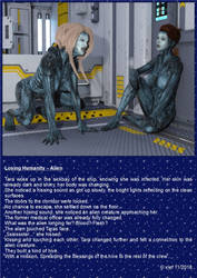 Losing Humanity - Alien by xlef