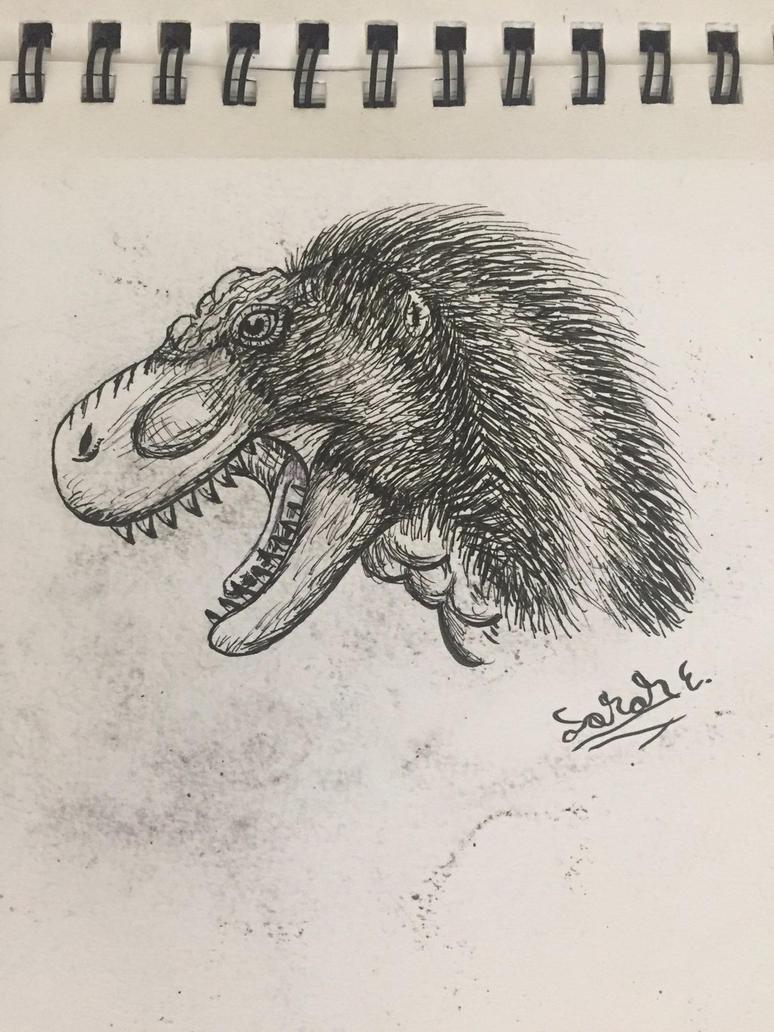 T Rex by Dinogirl120