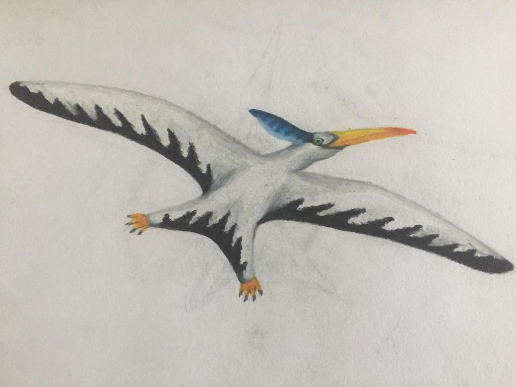 Pteranodon  by Dinogirl120