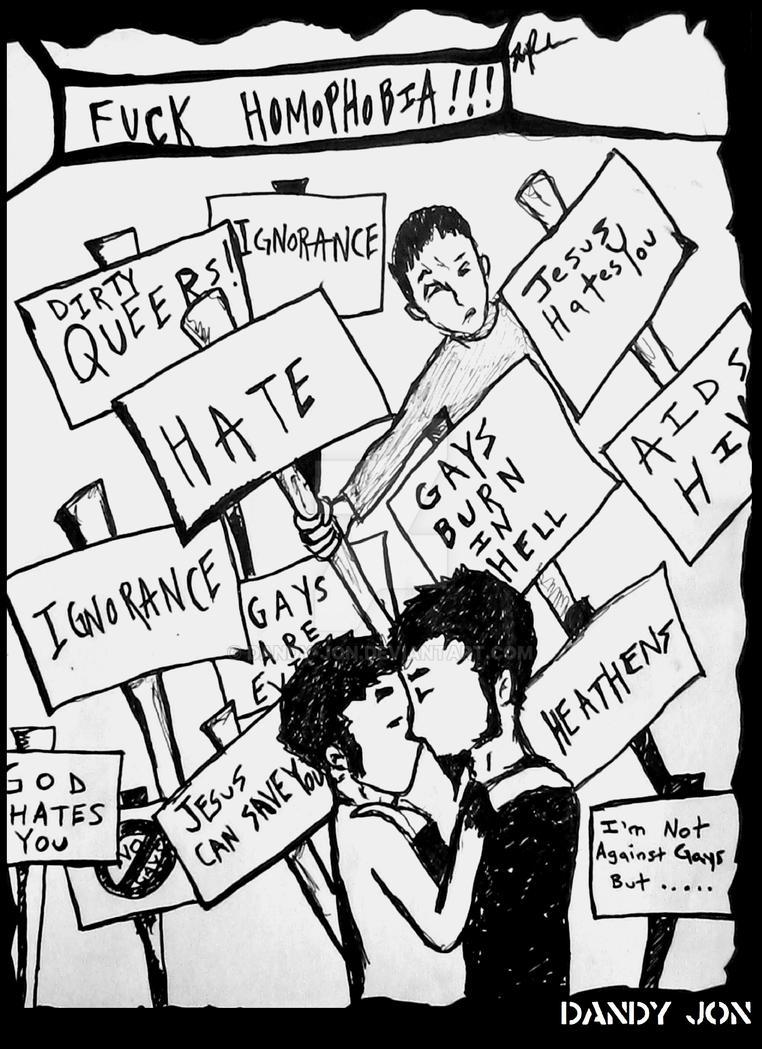Homophobia by Dandy-Jon