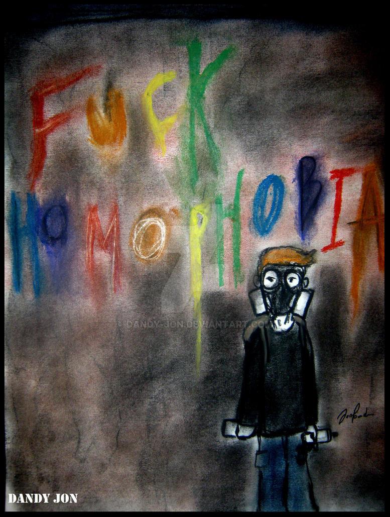 Fuck Homophobia by Dandy-Jon