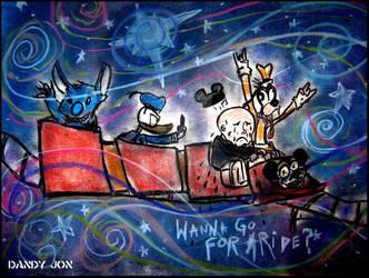 Oddity: Wanna Go For a Ride? by Dandy-Jon