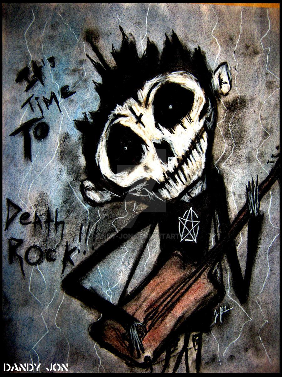 Death Boy: Deathrock by Dandy-Jon