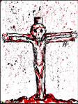 INKTOBER: 9-13 / Zombie Crucifucker