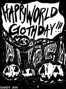 Death Boy: World Goth Day