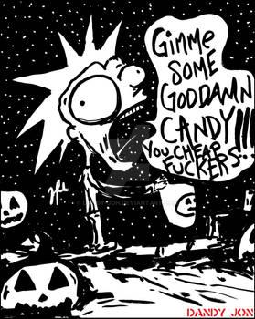 Spooktober 16: Little Bastard / Candy