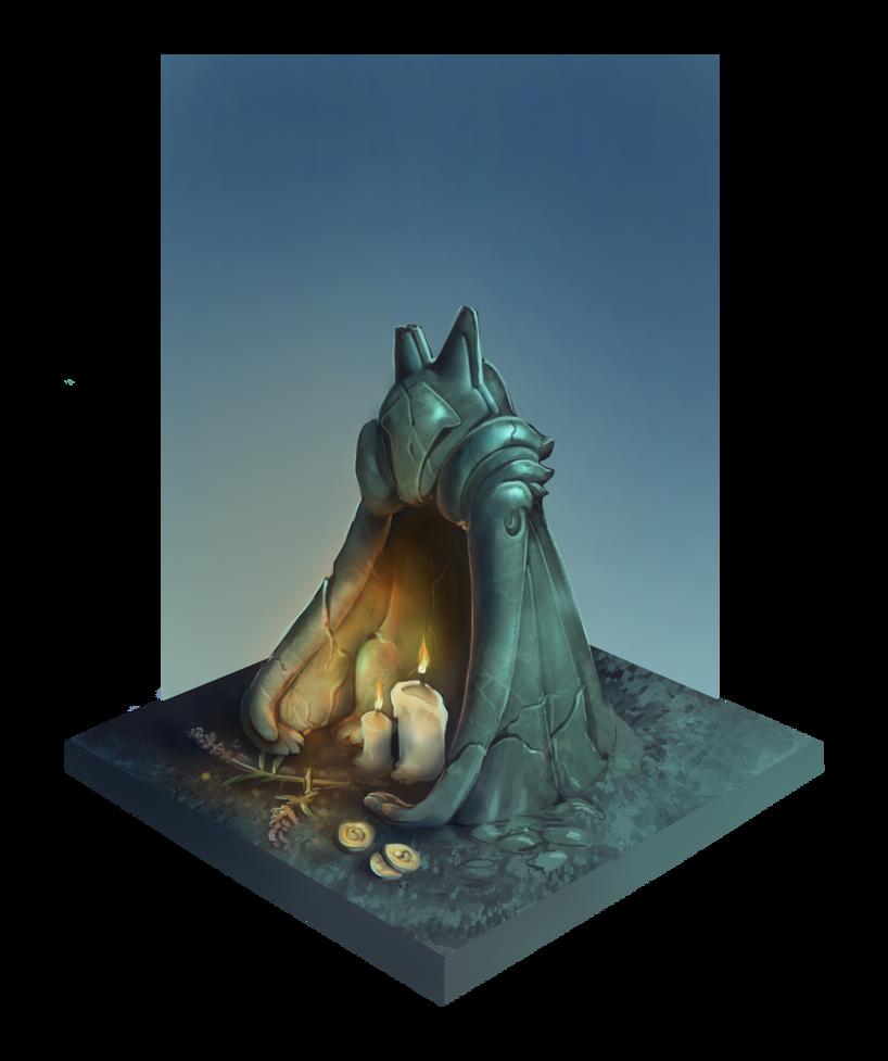 BeggarStone FLAT by Skollyson