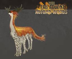Advent: Fall 2018 - Autumn Woods by Skollyson