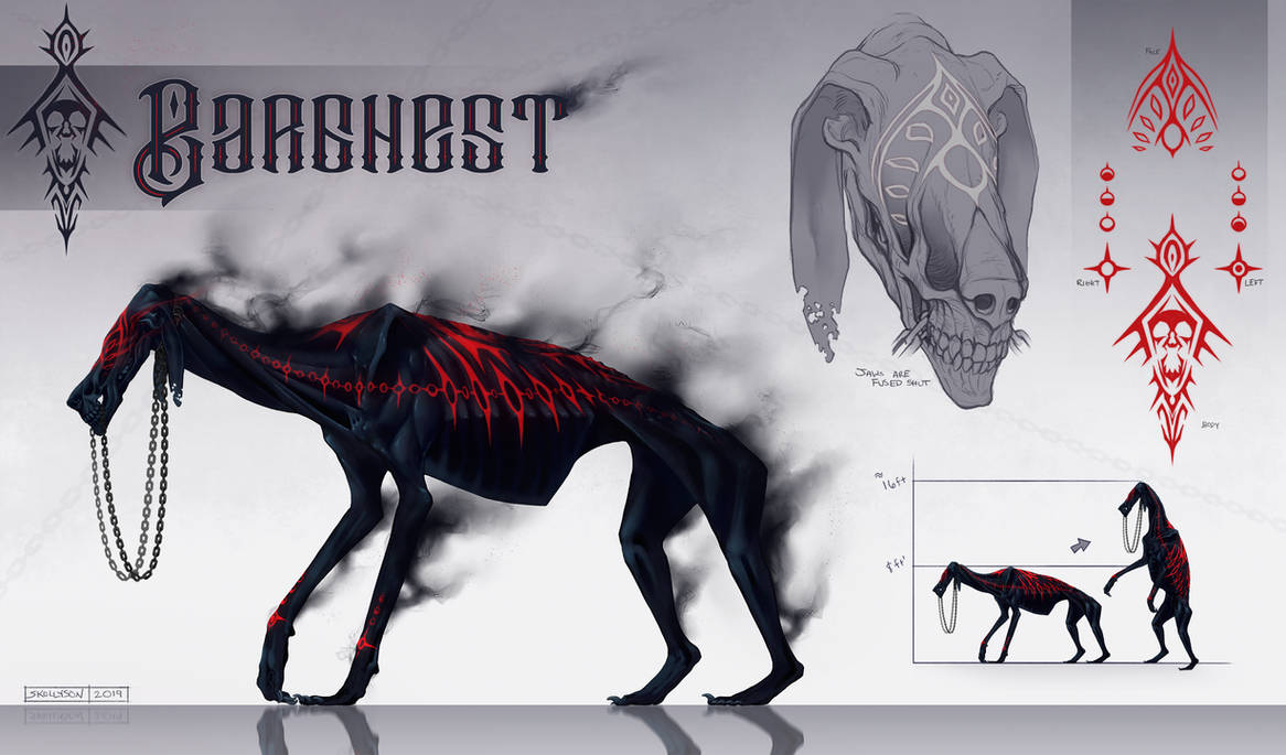 C: Barghest for TeknicolorTiger by Skollyson