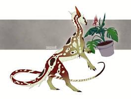 C: Parasite for Kyemon by Skollyson