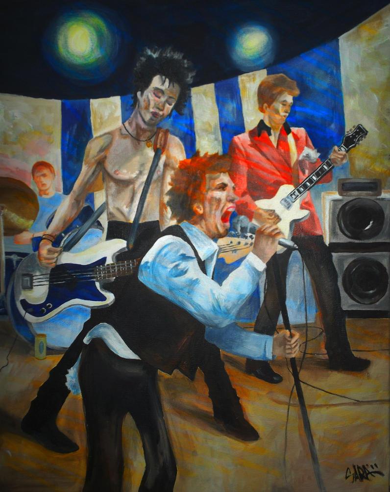 Sex Pistols by saraska95