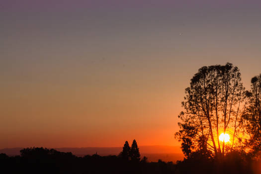 20190920 Orange Sunset