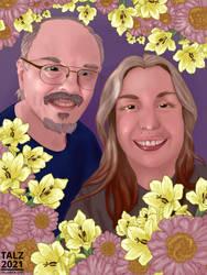 February 2021: Portrait Painting