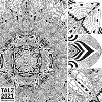March 2021: Mandala Close-up